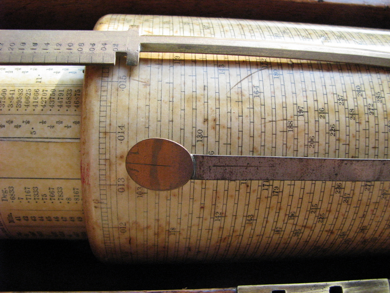 early Fuller's spiral slide rule for salepicture 2