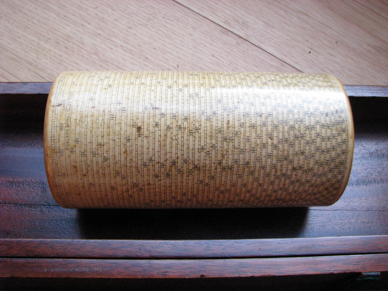 early Fuller's spiral slide rule for sale picture 12