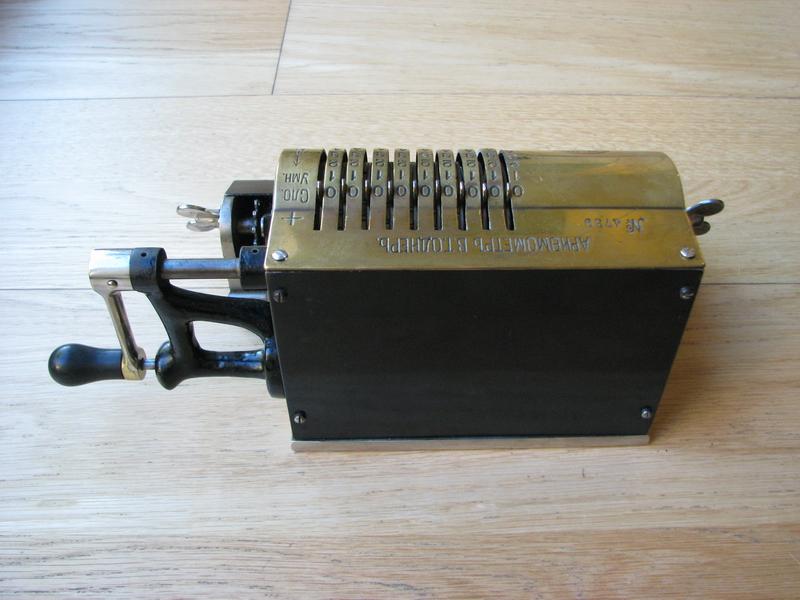 Odhner's Arithmometer  picture 3