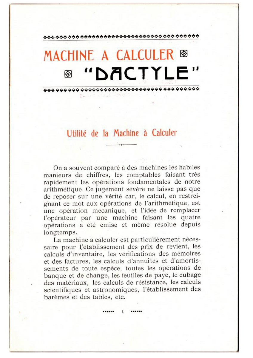 Dactyle instructions