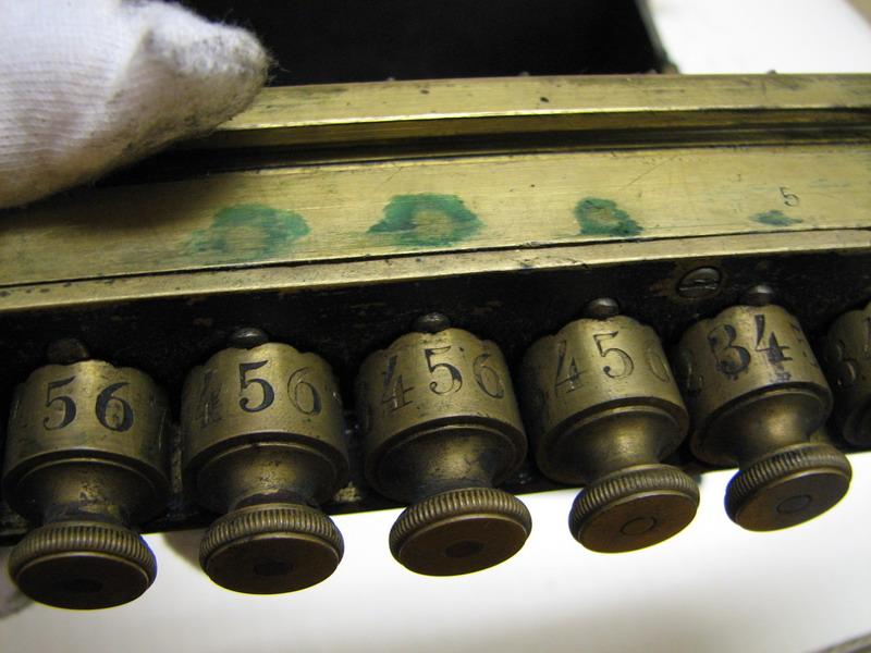 Odhner's arithmometer n° 5 picture 26