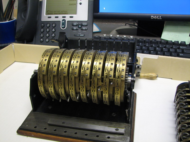 Odhner's arithmometer n° 9 picture 02