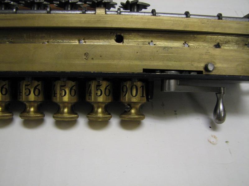 Odhner's arithmometer n° 9 picture 18
