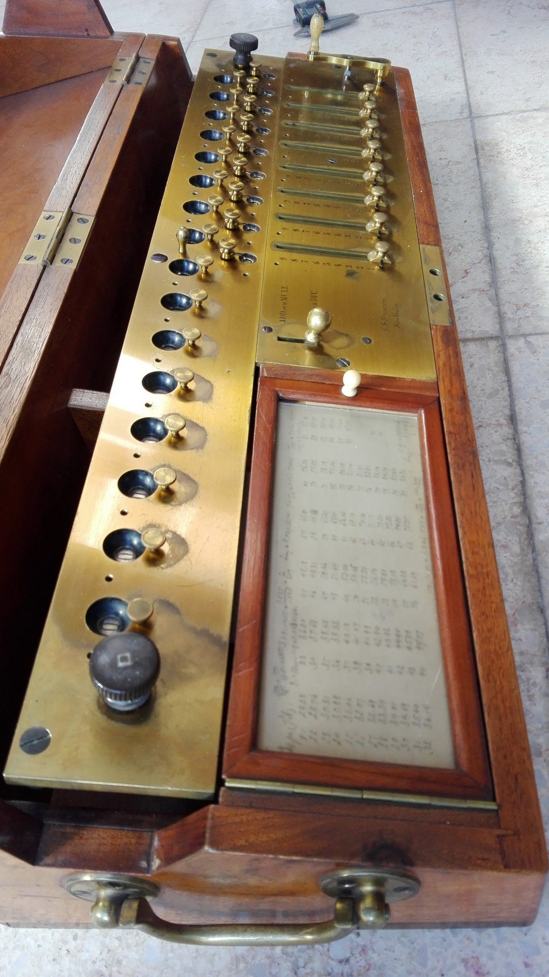 Sörensen Calculator picture 1