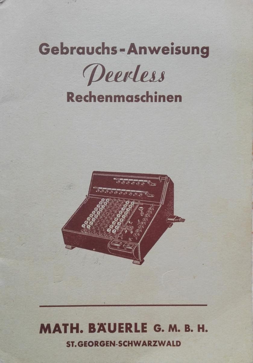 Badenia TEG13 manual